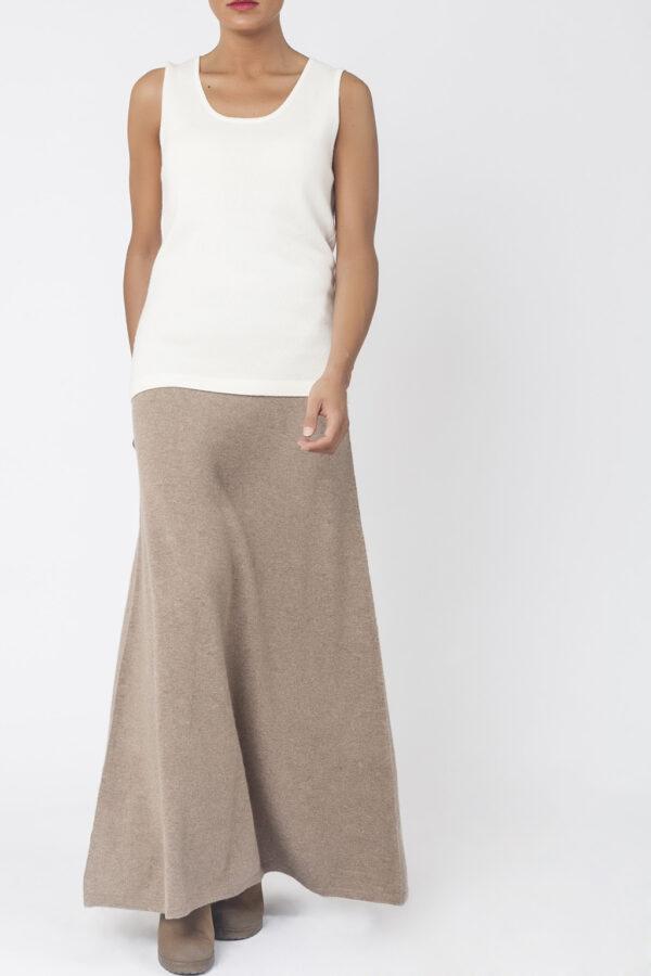 falda cashmere sienna