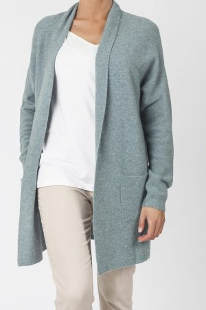 long cardigan cashmere
