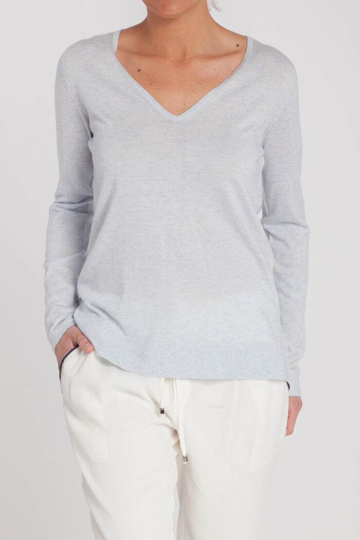 jersey pico new classic-pico-mujer-cashmere ultrafino-color azul claro-delante-again cashmere