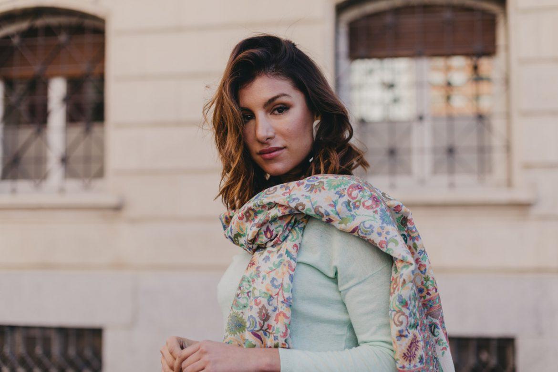 foulard, chal, capa