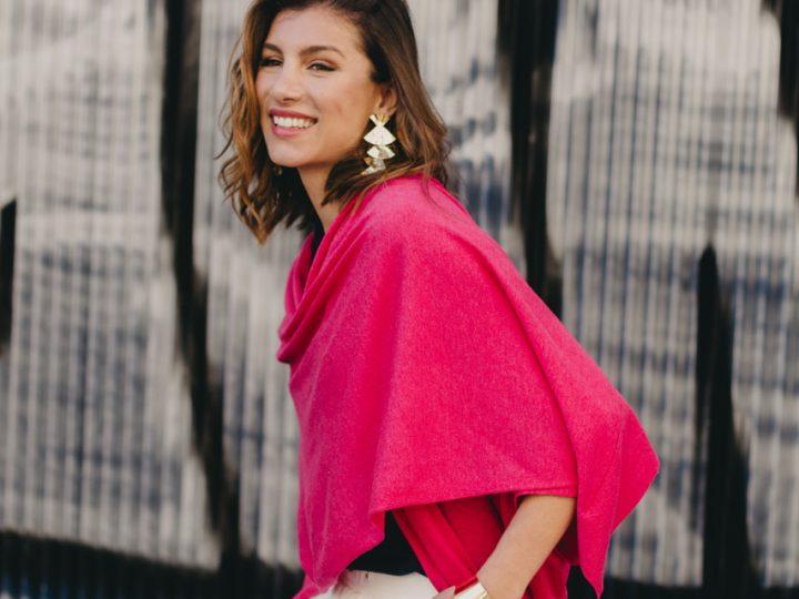 Capa de cashmere y seda: Un must have de lujo