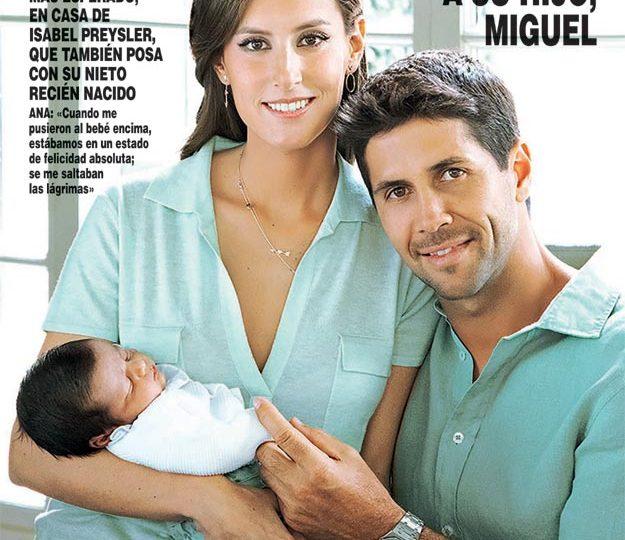 El Look de portada de Ana Boyer en Hola… ¡Es nuestro!