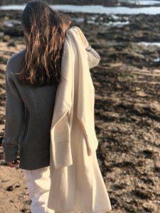 abrigo de cashmere